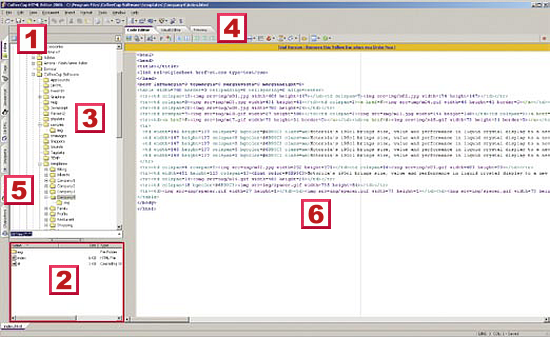 CoffeeCup HTML Editor 2006 | Magazyn T3