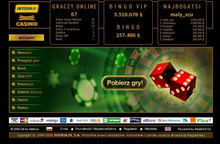 interia casino