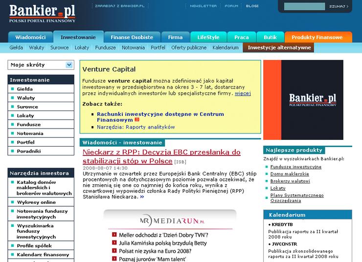 action bankier notowania surowc�w