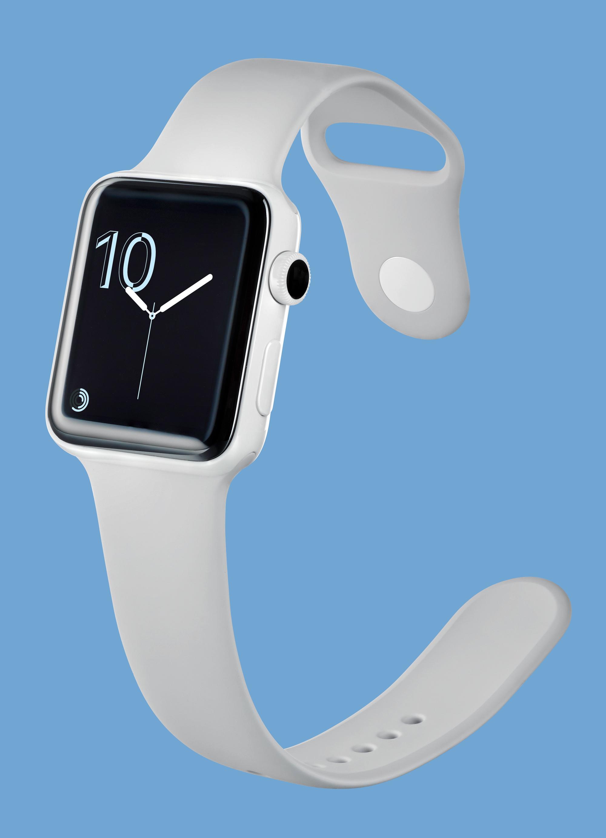 Dzięki wodoszczelnej obudowie ze smartwatcha Apple można bez przeszkód korzystać np. na basenie.
