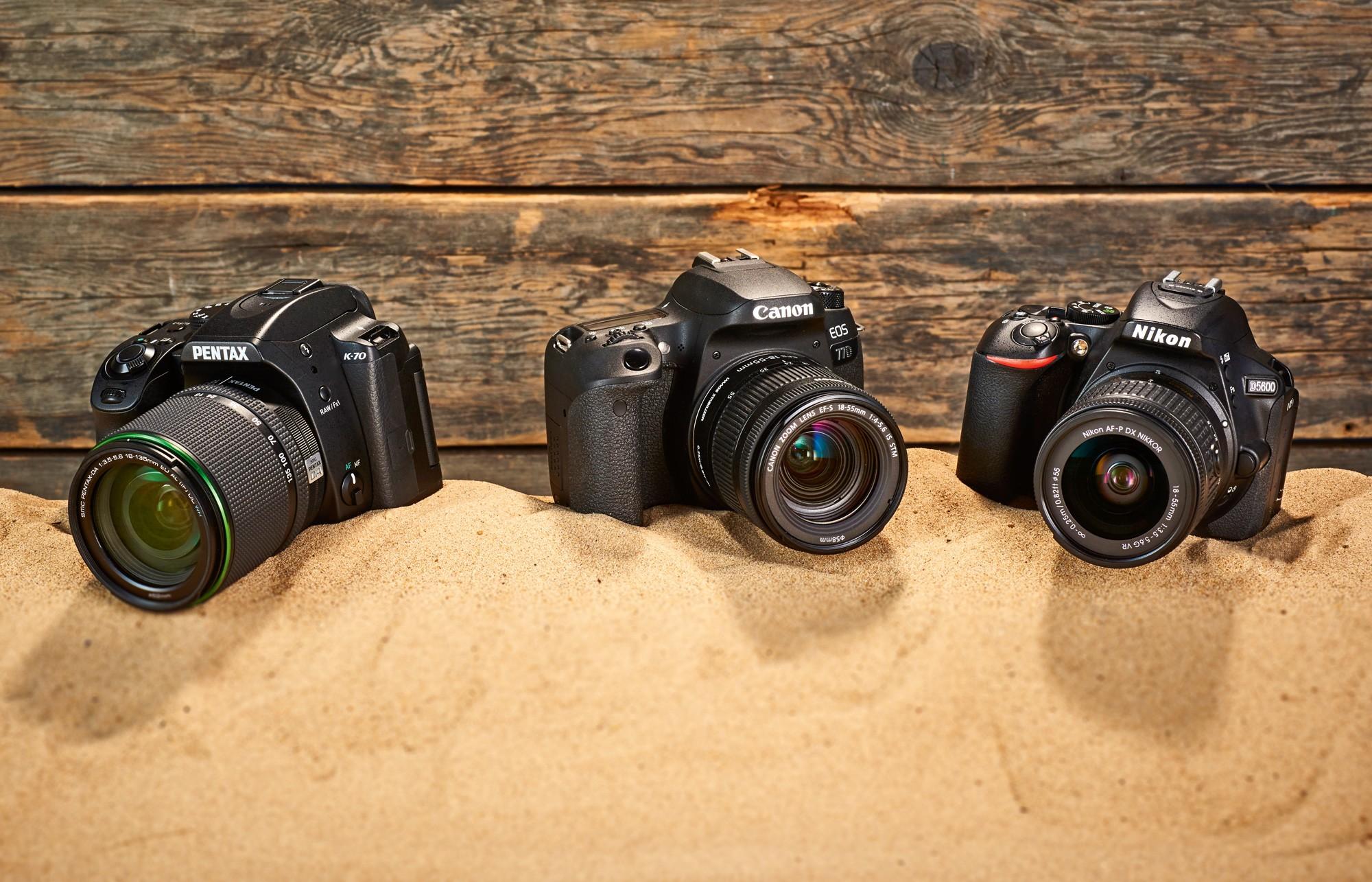 Aparaty DSLR | Test porównawczy | Canon, Nikon, Pentax